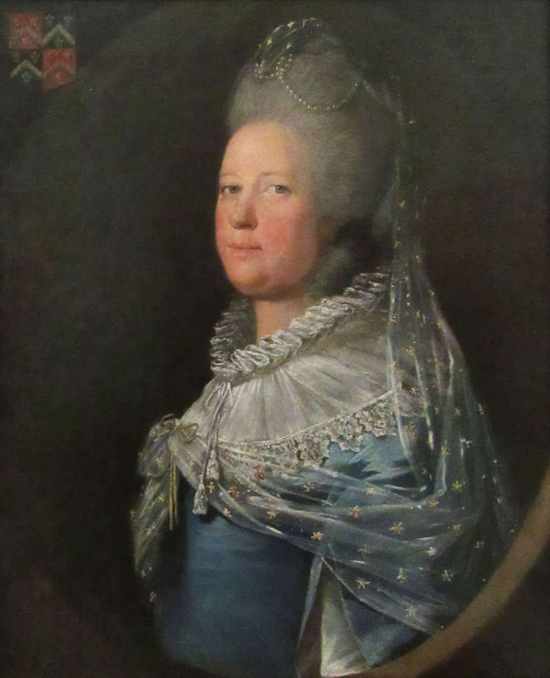 Anne Vaughan of Corsygedol by William Parry (Courtesy of The National Museum of Wales)
