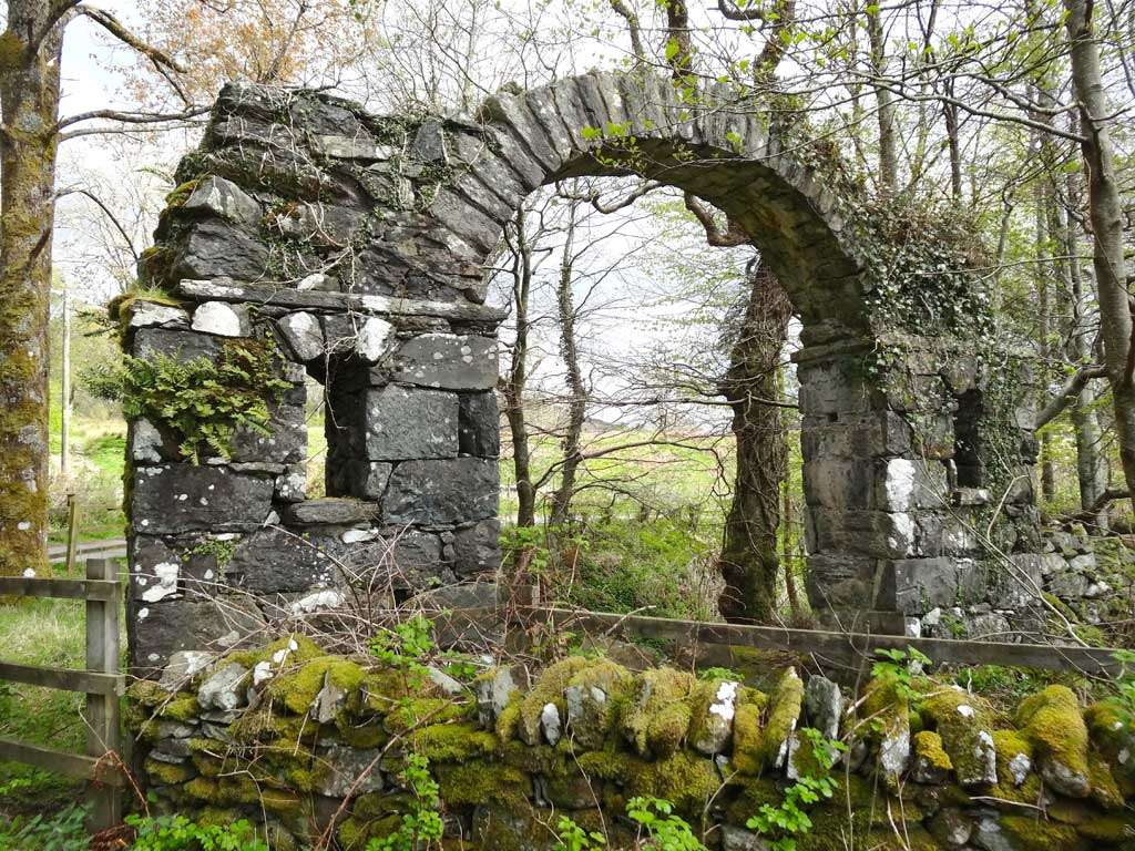 The Arch at Maes-y-Bryner in 2014