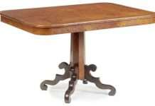 Victorian Figured Oak Breakfast Table