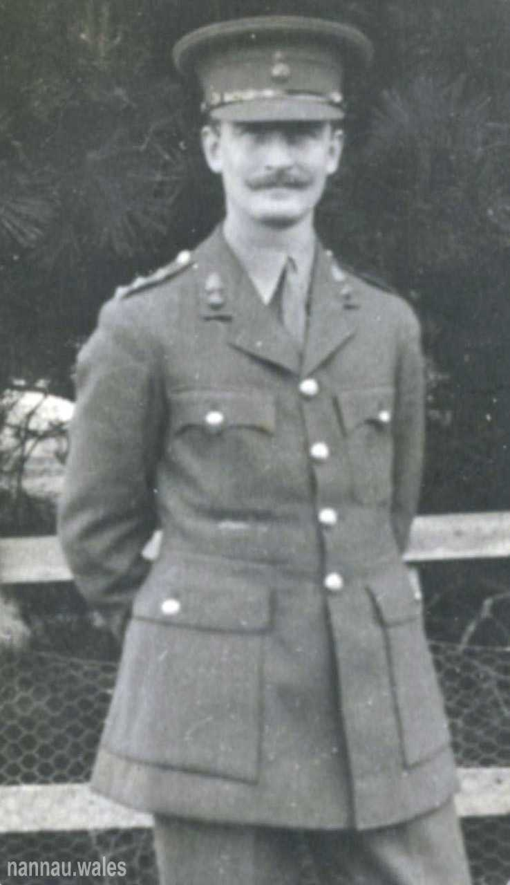 Captain Charles Hilary Vaughan Pritchard. Photo courtesy of Philip Nanney Williams