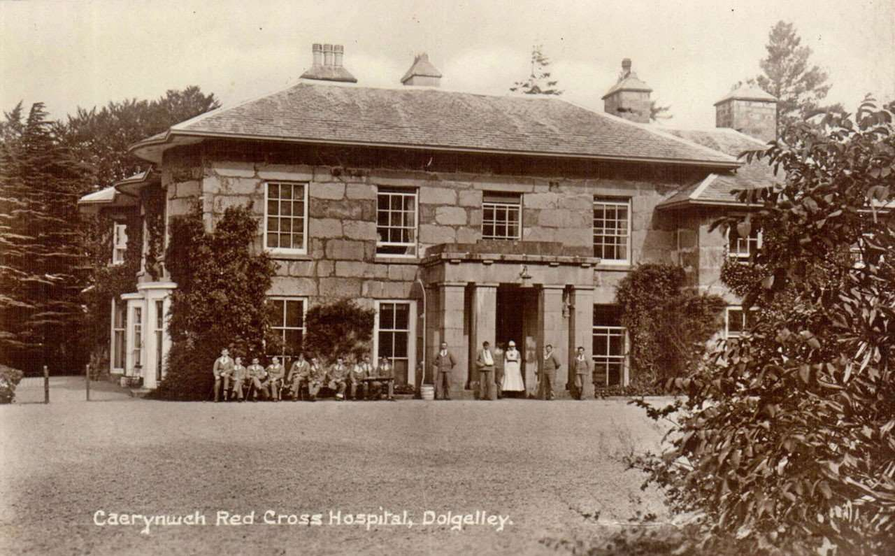 Caerynwch Was Used as a Red Cross Hospital in WWII