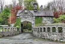 Coed-y-Moch Lodge in Autumn