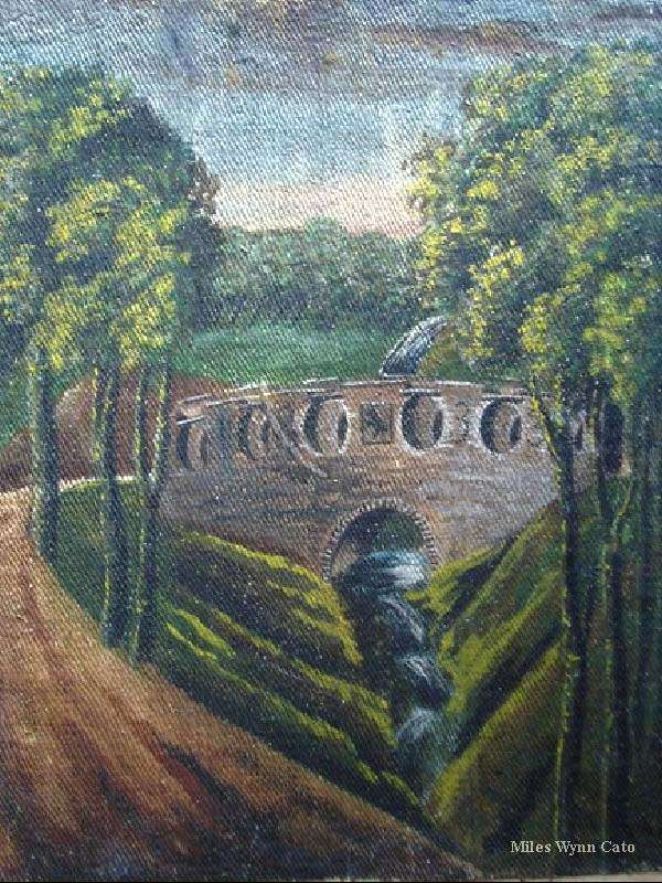 A Bridge on the Nannau Estate by Eleanor Catherine Vaughan (1 of 2)