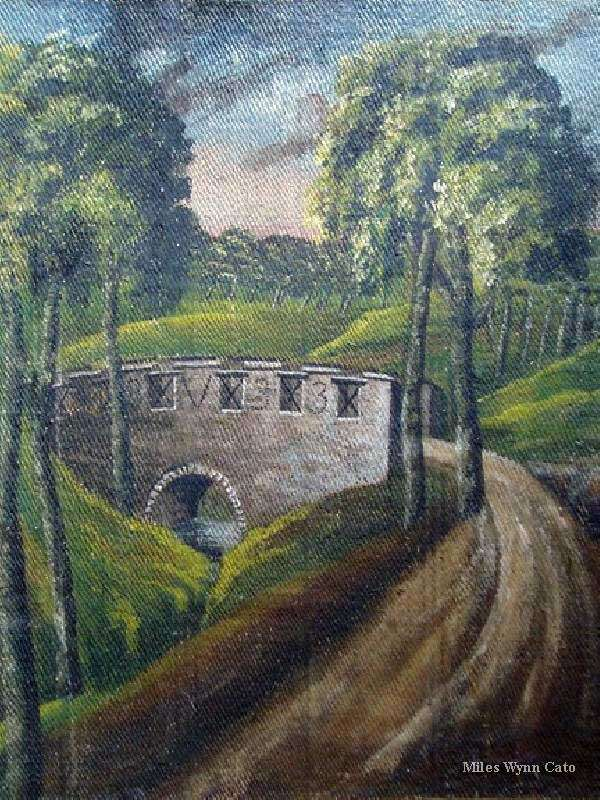 A Bridge on the Nannau Estate by Eleanor Catherine Vaughan (2 of 2)