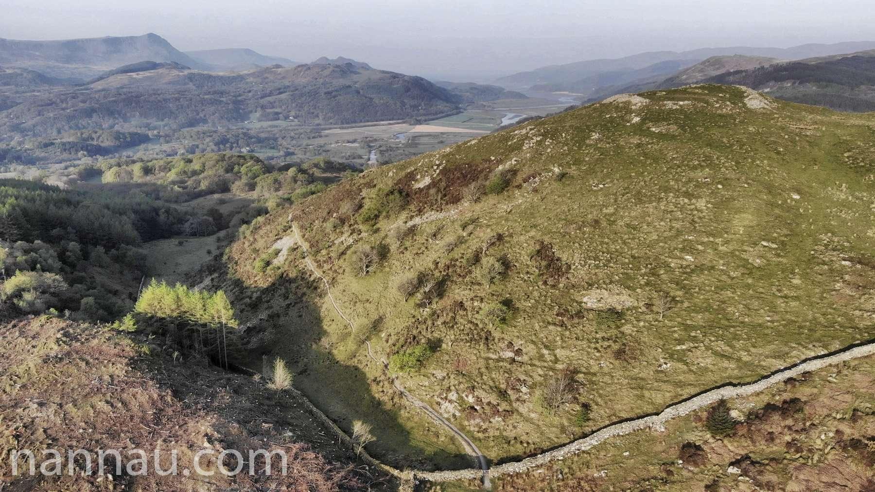Foel Faner and Precipice Walk (Drone)
