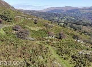Foel Offrwm Walk (Drone)
