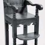 Gruffydd Nanney's High Chair from 1669