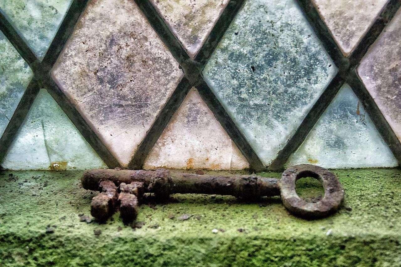 An Old Key in St. Machreth Church, Llanfachreth