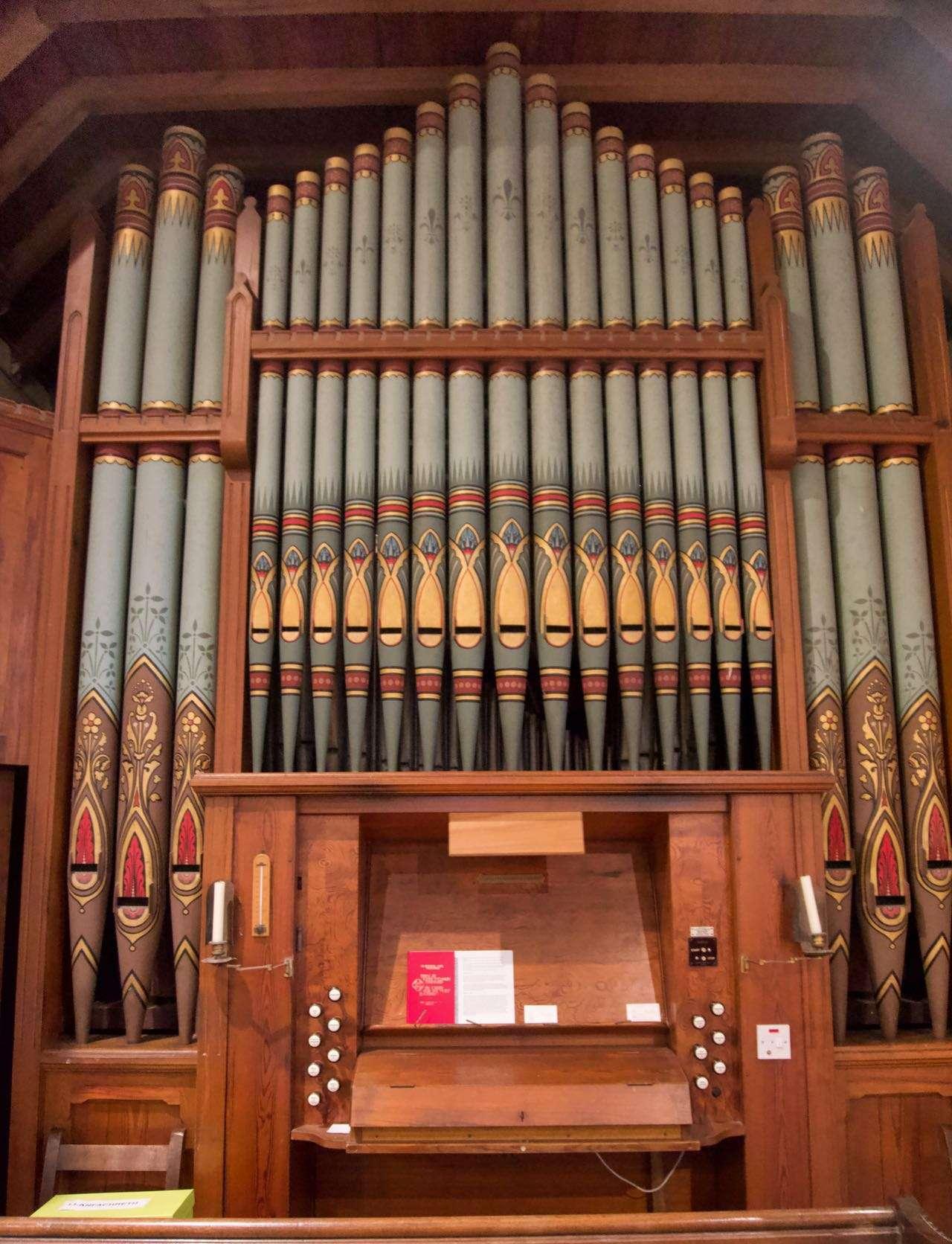 The Organ in St. Machreth Church, Llanfachreth