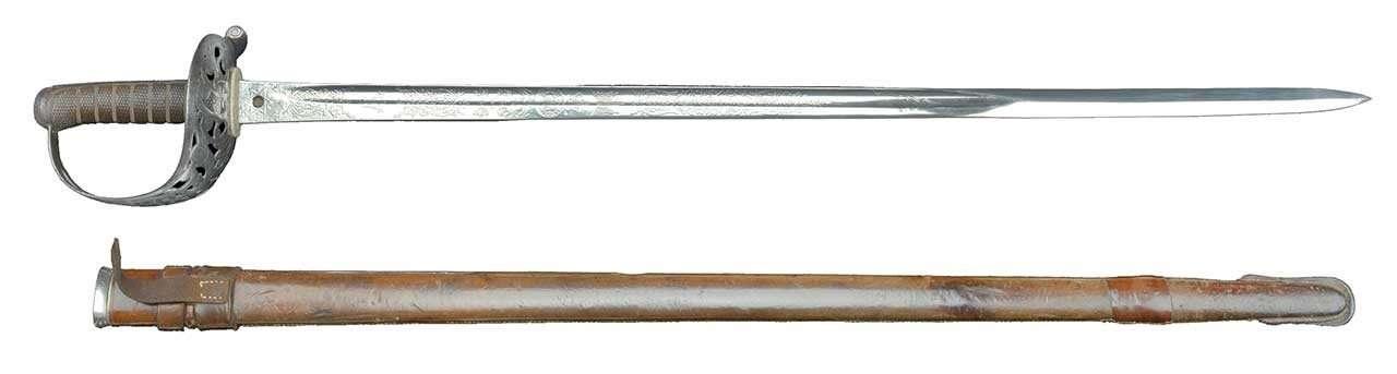 Major General John Vaughan's Cavalry Sword
