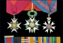 Major-General John Vaughan's Medals