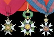 Major-General John Vaughan's Medals