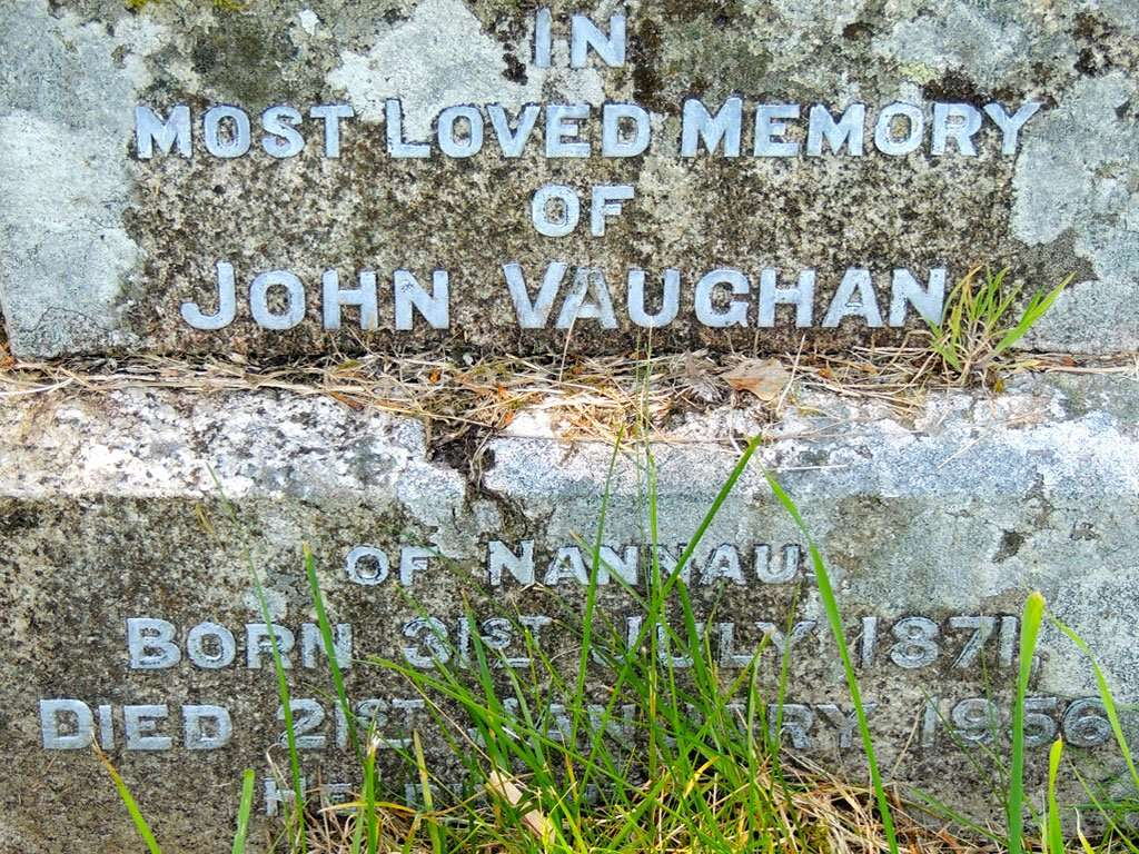 Major-General John Vaughan's Gravestone at Llanfachreth