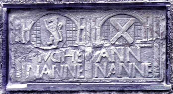 An Engraved Stone from the House of Hugh Nanney Hên, now at Llanfendigaid