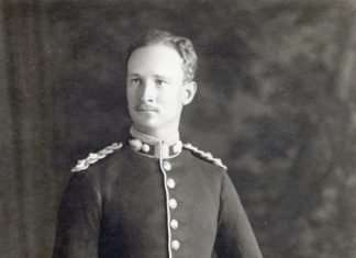 Lt. C.H.V. Pritchard, Royal Welsh Fusiliers c.1930. Photo courtesy of Philip Nanney Williams