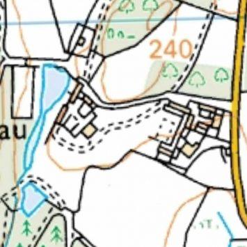 2015 Map of Nannau