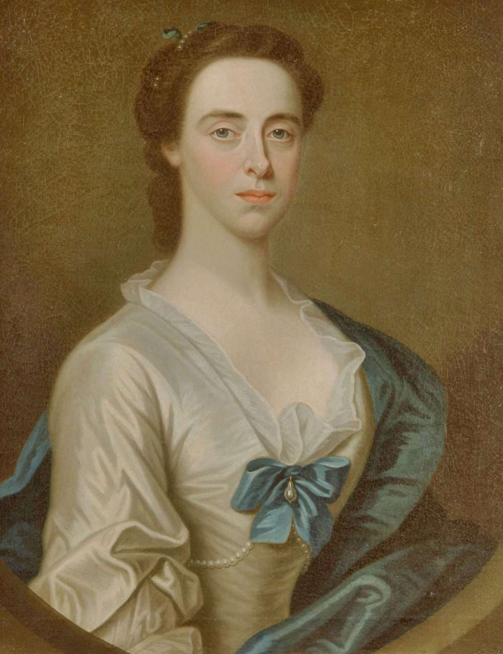 Anne Vaughan in 1751 (Courtesy of The National Museum of Wales)