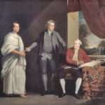 Omai, Joseph Banks and Daniel Solander (Courtesy of The National Museum of Wales)