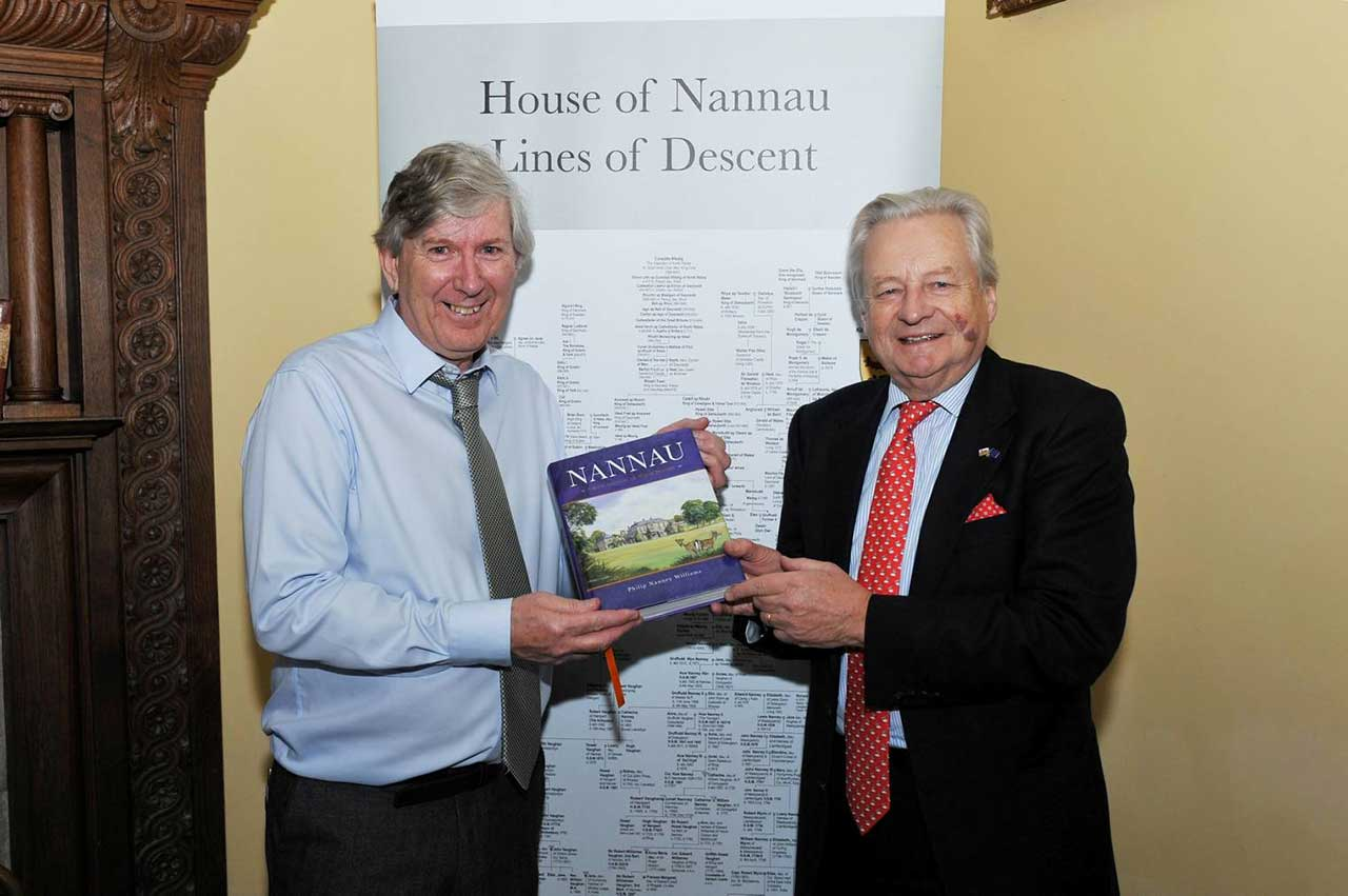 The author Philip Nanney Williams & Lord Dafydd Elis-Thomas