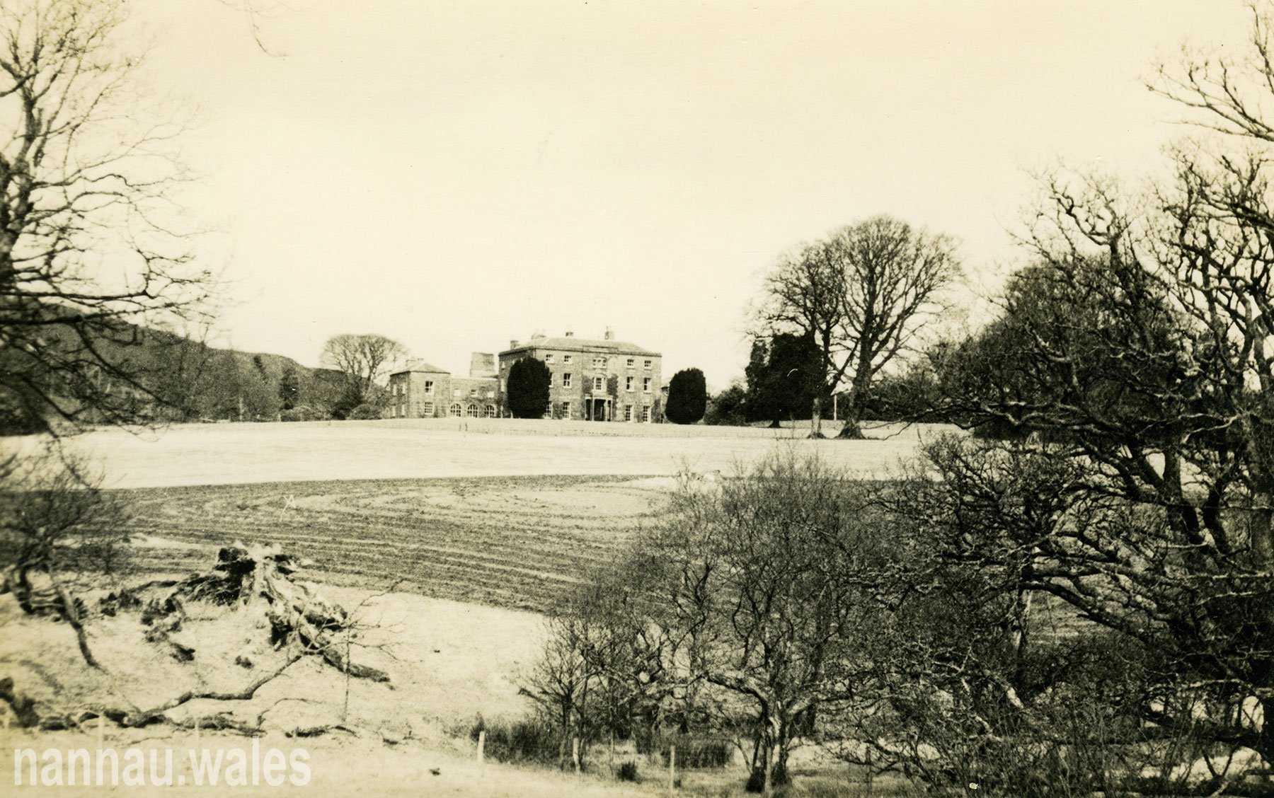 A Postcard of Plas Nannau Hall from the 1960s