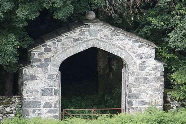 Nannau Arch at Yr Hen Ardd
