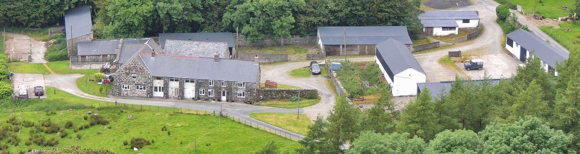 Nannau Home Farm in 2014