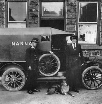 The Old Nannau Post Van in Dolgellau
