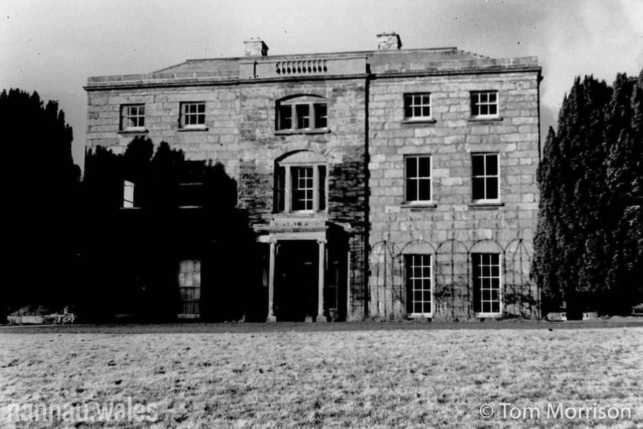 Plas Nannau Hall c.1960. Photo © Tom Morrison