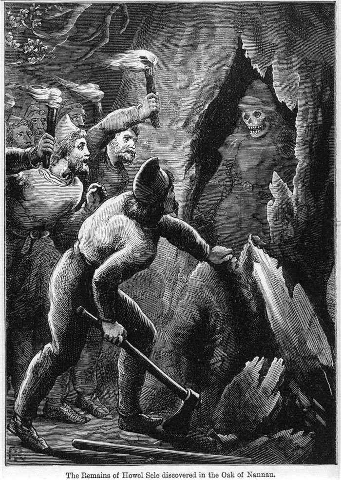 Derwen Ceubren yr Ellyll -1889 Engraving