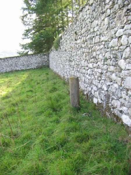 Stone Marker Post in Yr Hen Ardd