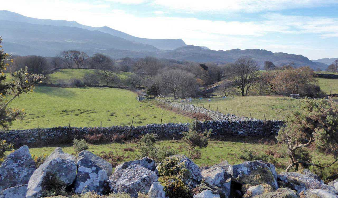 Looking Back at Cader Idris