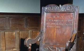 Parliament Armchair of the Nannau Family