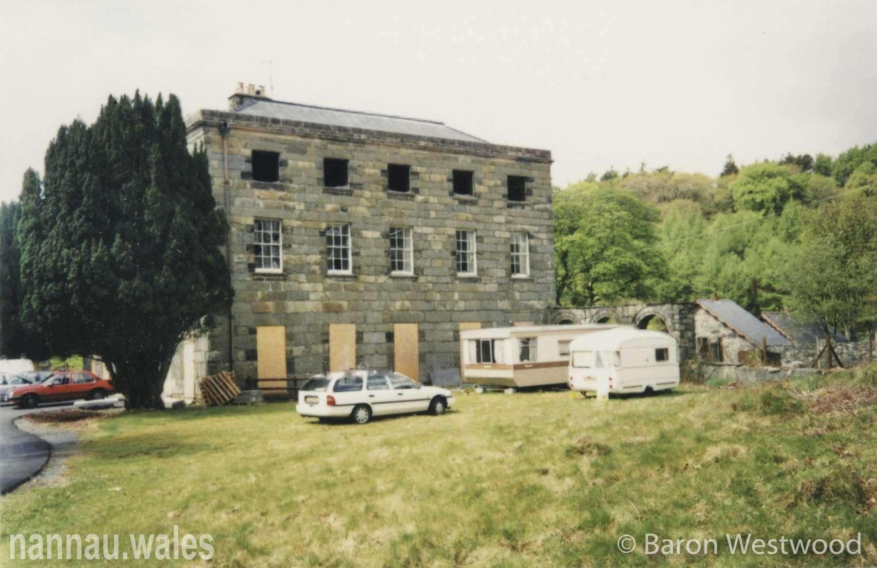 Plas Nannau Hall 1996. Photo © Baron Westwood.