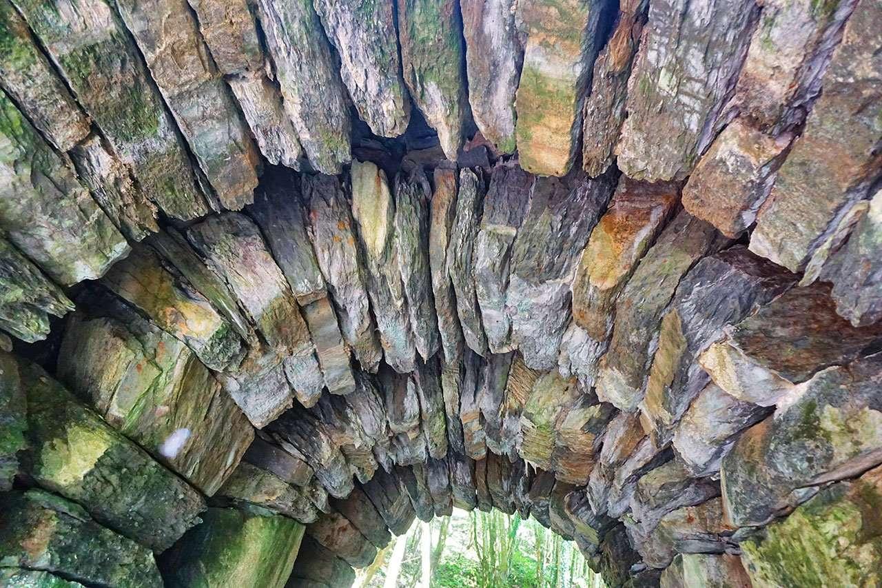 The Stonework Under Pont y Llew (Lion Bridge)