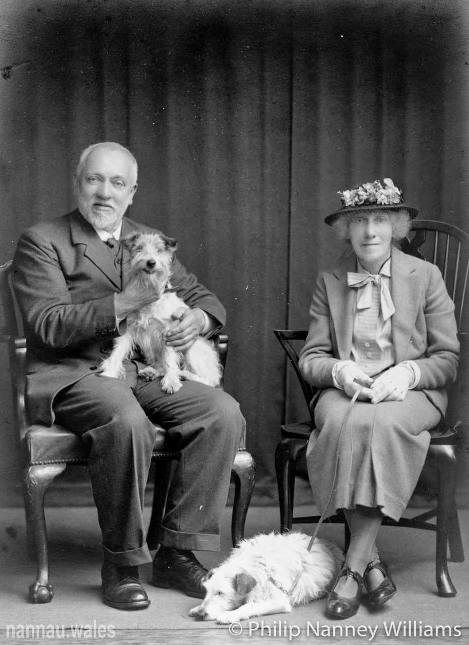 Robert Vaughan of Garthmaelan and his Wife, Lady Patricia Vaughan c.1920s. Photo © Philip Nanney Williams.
