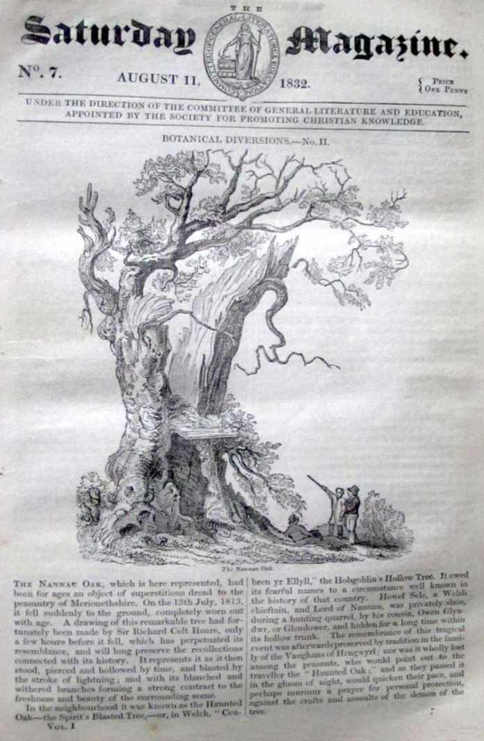 The Saturday Magazine from 1832