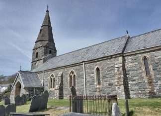 St. Machreth Church in Llanfachreth
