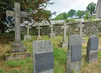 The Vaughan Family Plot at Llanfachreth