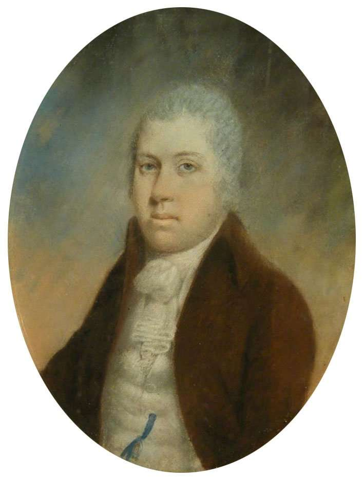 Hugh Vaughan of Hengwrt (d.1783) - Courtesy of welshantiques.com