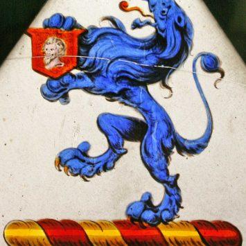 The Nannau Armorial - The Nannau Lion Crest
